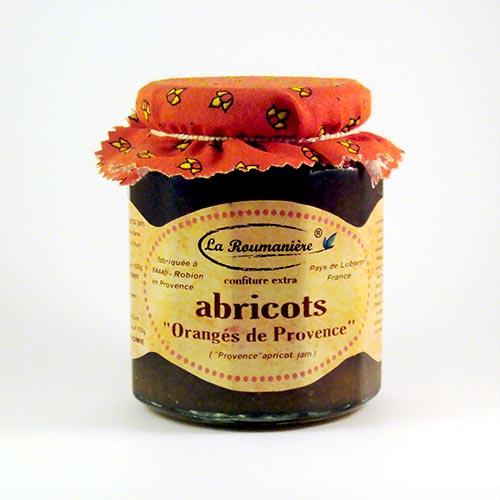 Confiture d'Abricots orangés de Provence La Roumaniere 345g