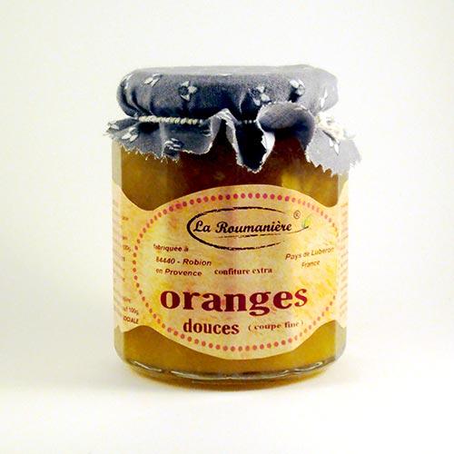 Confiture d'Oranges douces La Roumanière 345g
