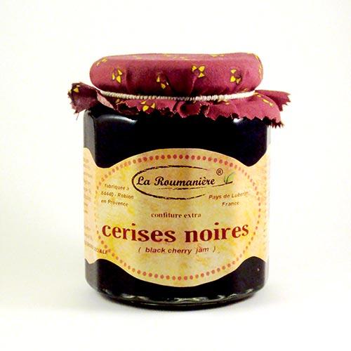 Confiture de Cerises noires La Roumanière 345g