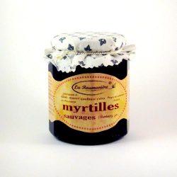 Confiture de Myrtilles sauvages La Roumaniere 345g