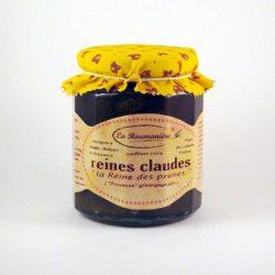 Confiture de Reines Claudes La Roumanière 345g