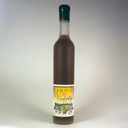 Liqueur de Violette Le Mas de Coralie 50cl