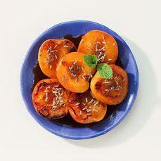 abricots rotis au miel de lavande