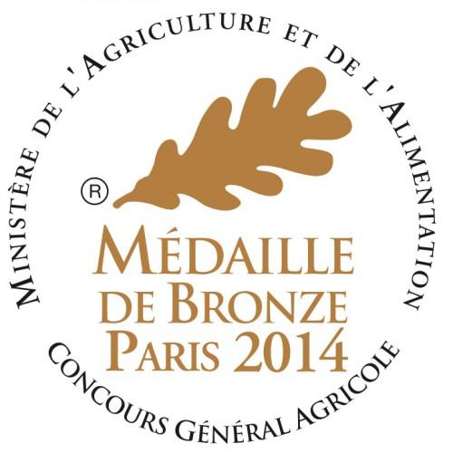 médaille bronze 2014