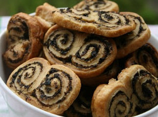 palmiers tapenade